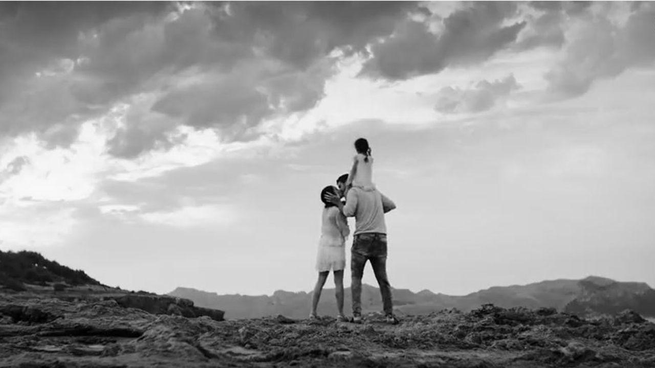 El último videoclip de Melendi.Imagen de un pleno del año 2017.