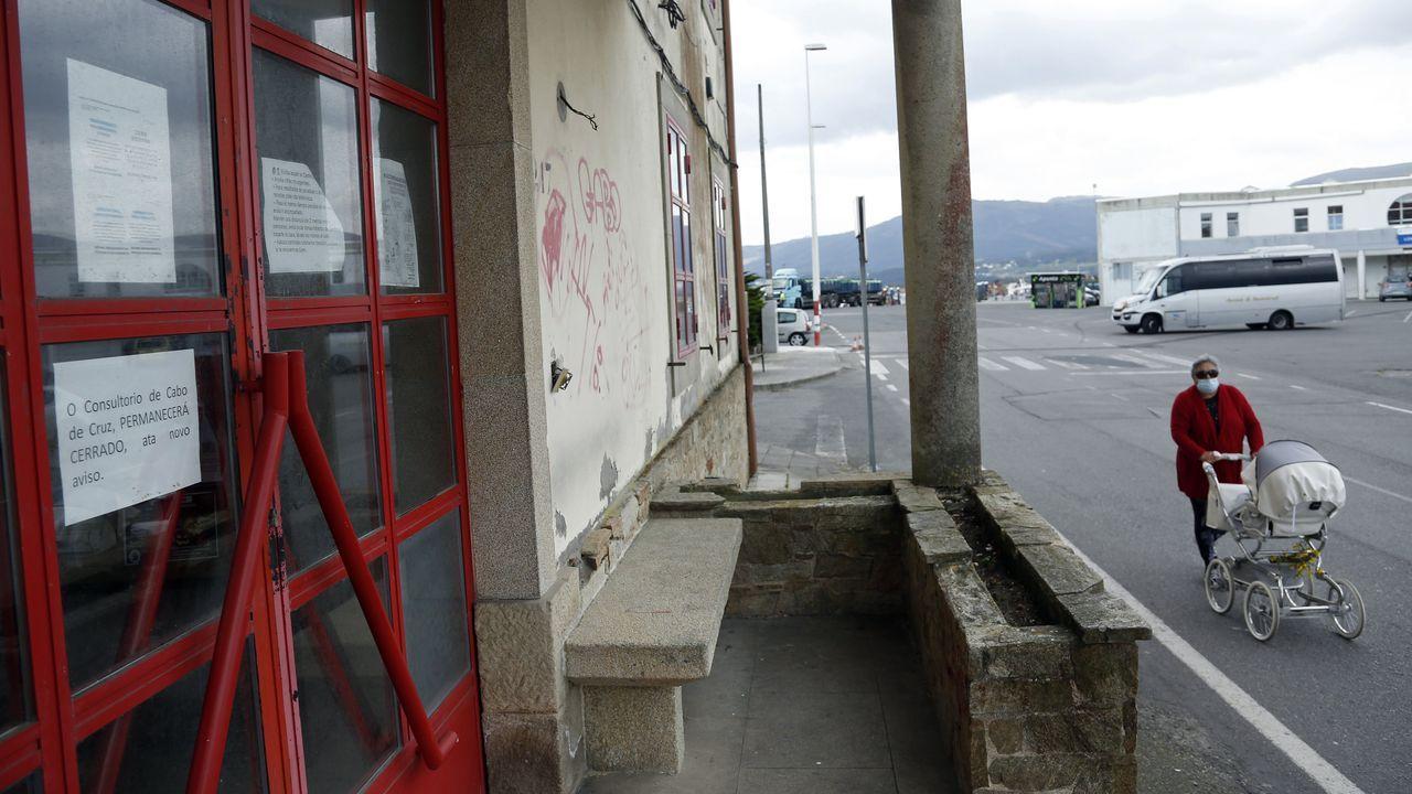 El consultorio de Cabo de Cruz, en Boiro, está cerrado desde el inicio de la pandemia