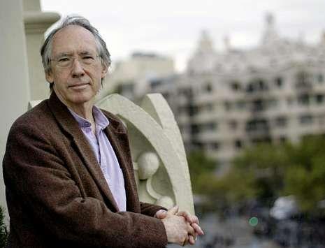 El escritor británico Ian McEwan, ayer en Barcelona.