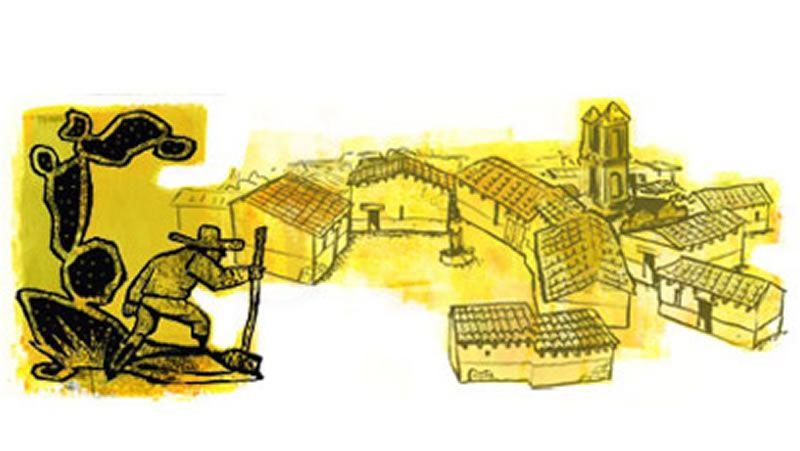 doodle juan rulfo.El cantante, durante una actuación en Vig¡o hace dos años