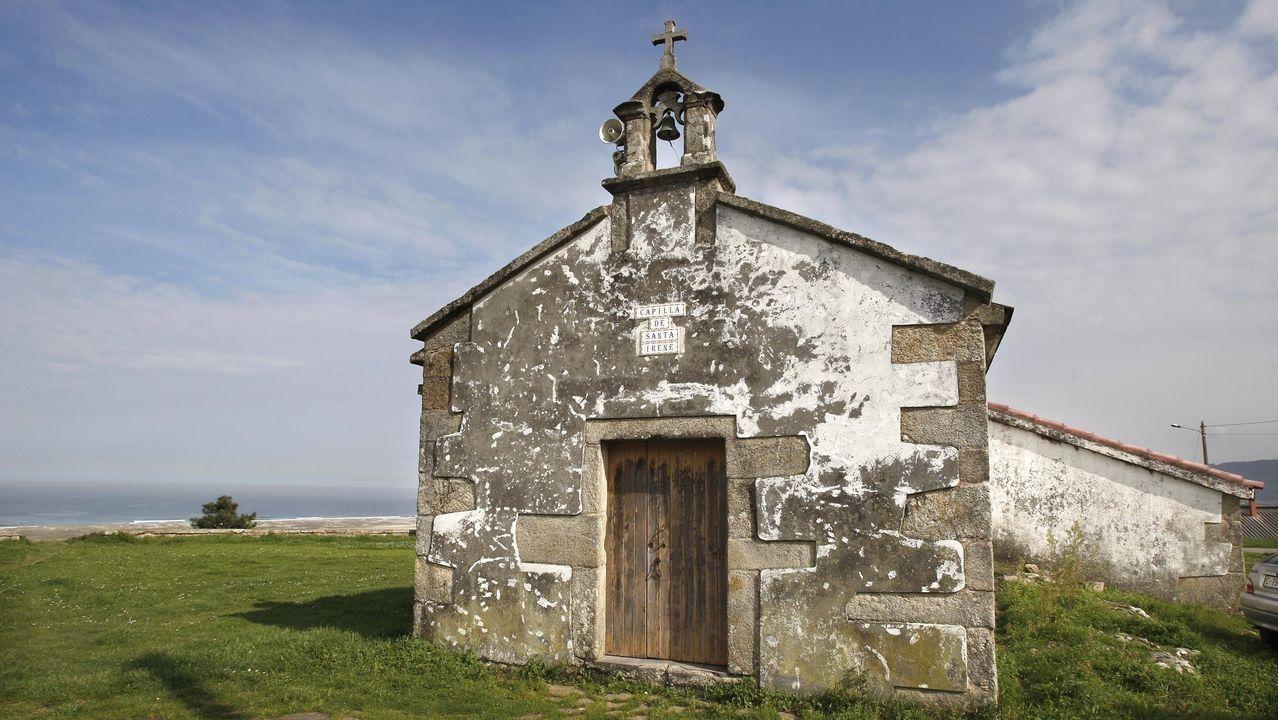 El Fiot sorprende con su programación más social.Capilla de Santa Irene, en Castrillón (Lema)