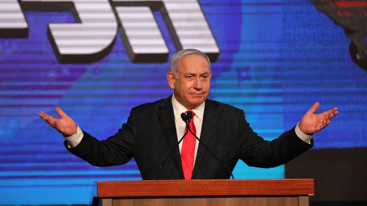 Tragedia en una fiesta ultraortodoxa en Israel.Benjamin Netanyahu, en el último mitin final de la última campaña
