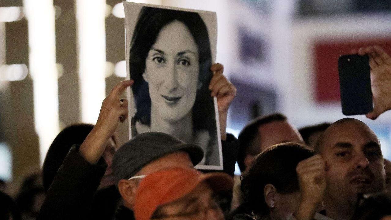 Los malteses se movilizaron tras el asesinato de la periodista y la implicación de empresarios y políticos