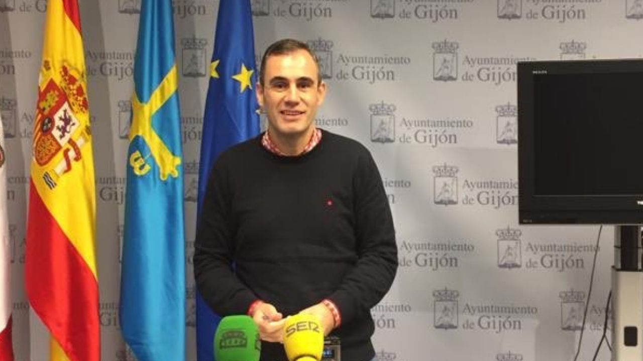 Rubén Pérez Carcedo, concejal de Ciudadanos en el Ayuntamiento de Gijón.Rubén Pérez Carcedo, concejal de Ciudadanos