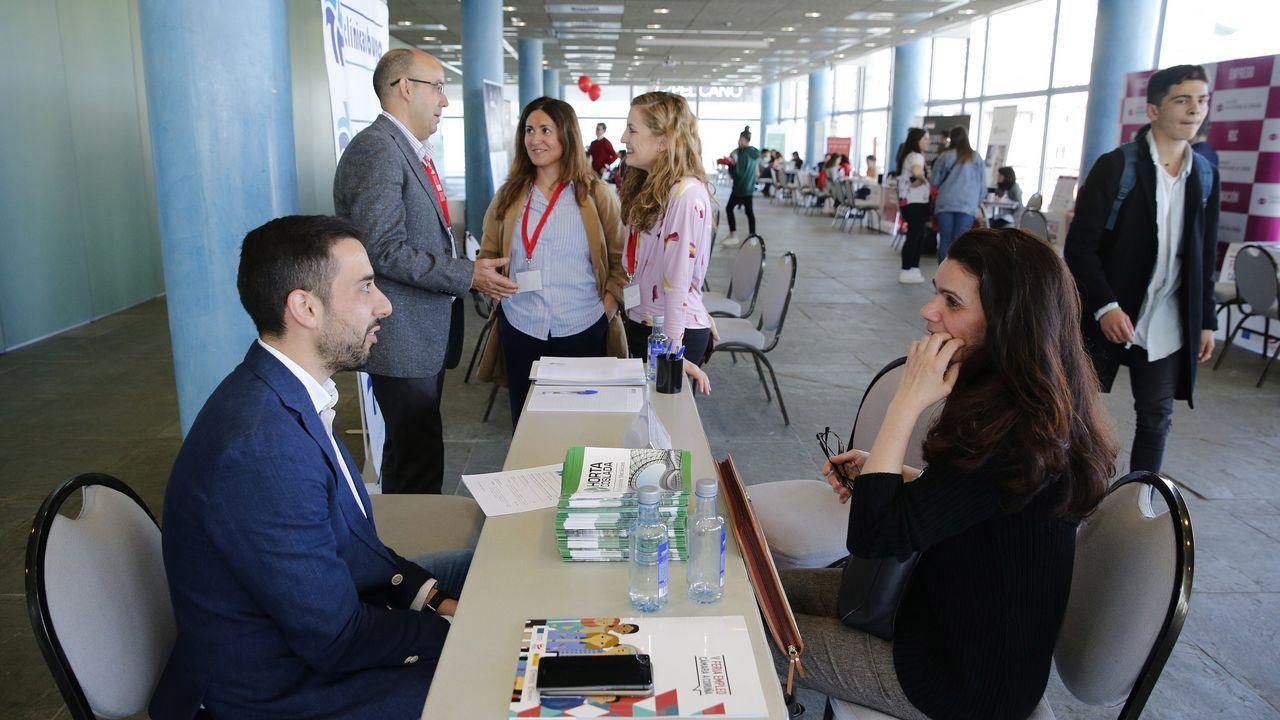 Imagen de archivo de la Feria de Empleo celebrada en Palexco en el 2019