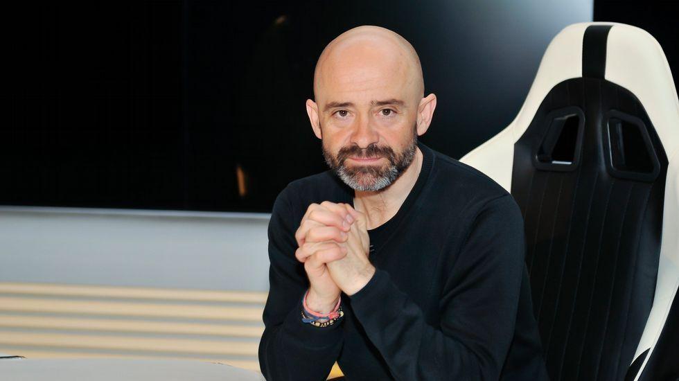 Antonio Lobato y Fernando Alonso en «Desafía tu cerebro»