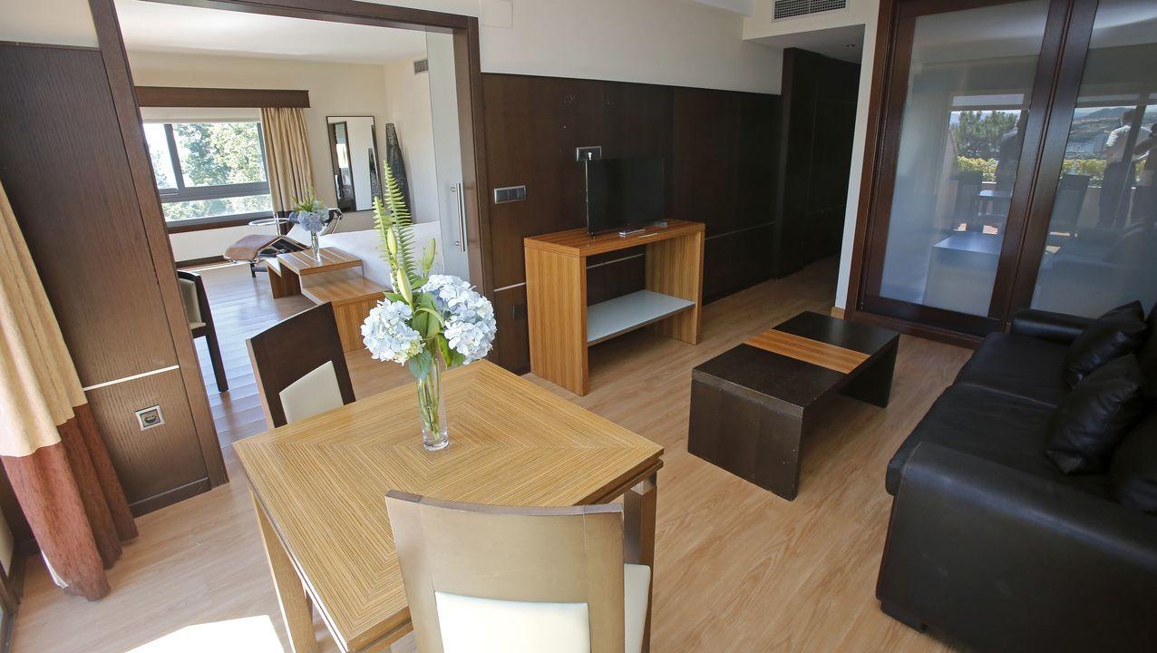 Habitación del Gran Talaso Hotel Sanxenxo