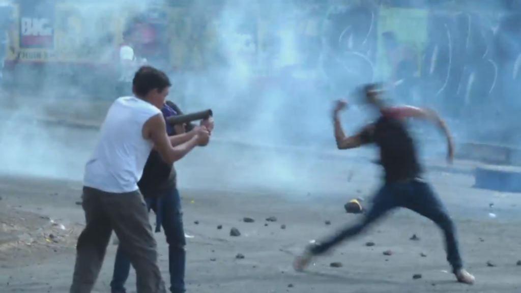 Matan de un disparo a un periodista que hacía una retransmisión en directo.Protestas contra Daniel Ortega en Nicaragua