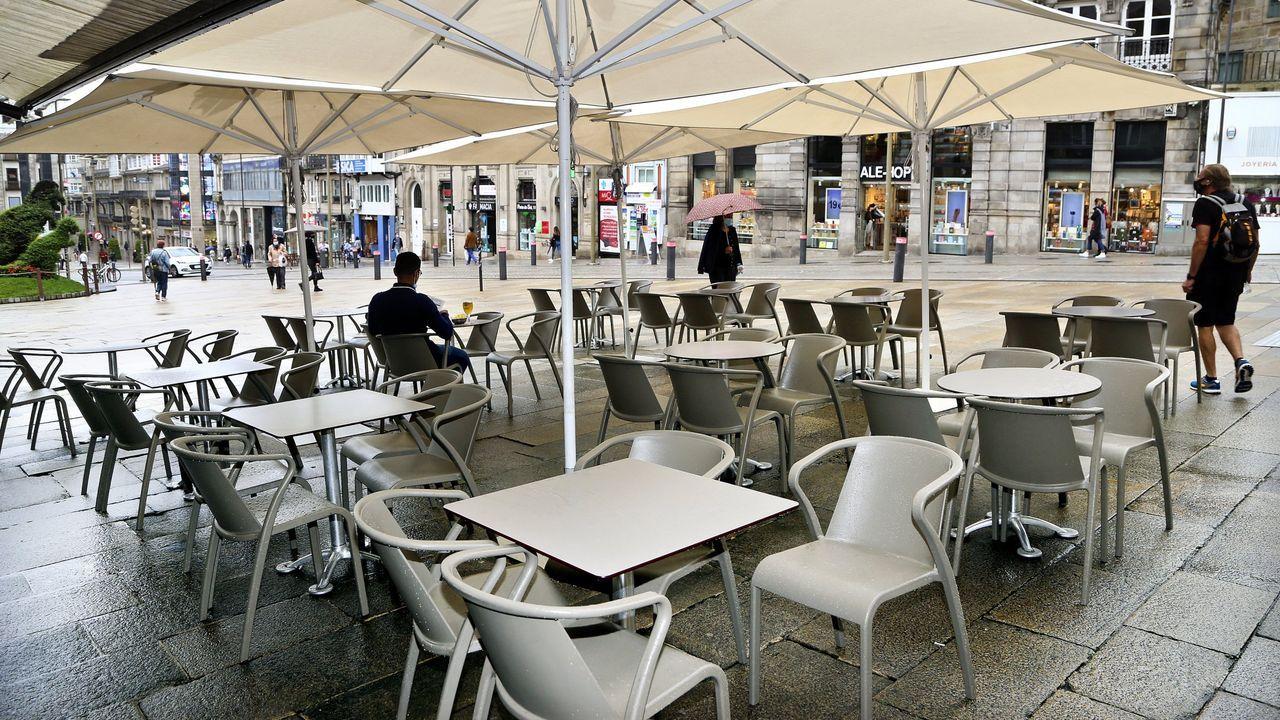 La estación itermodal de Vigo cobra forma.Terrenos donde se construirá el cementerio