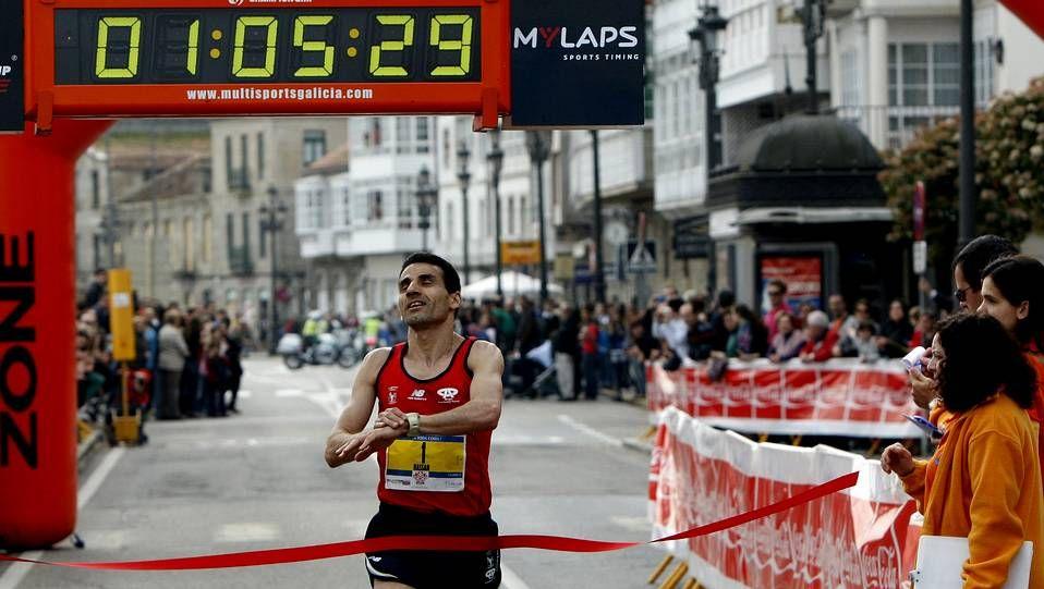 Gran participación en la media maratón Vig-Bay
