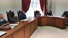 Un momento del pleno en el que se aprobó la renuncia del alcalde de Quiroga a su dedicación exclusiva