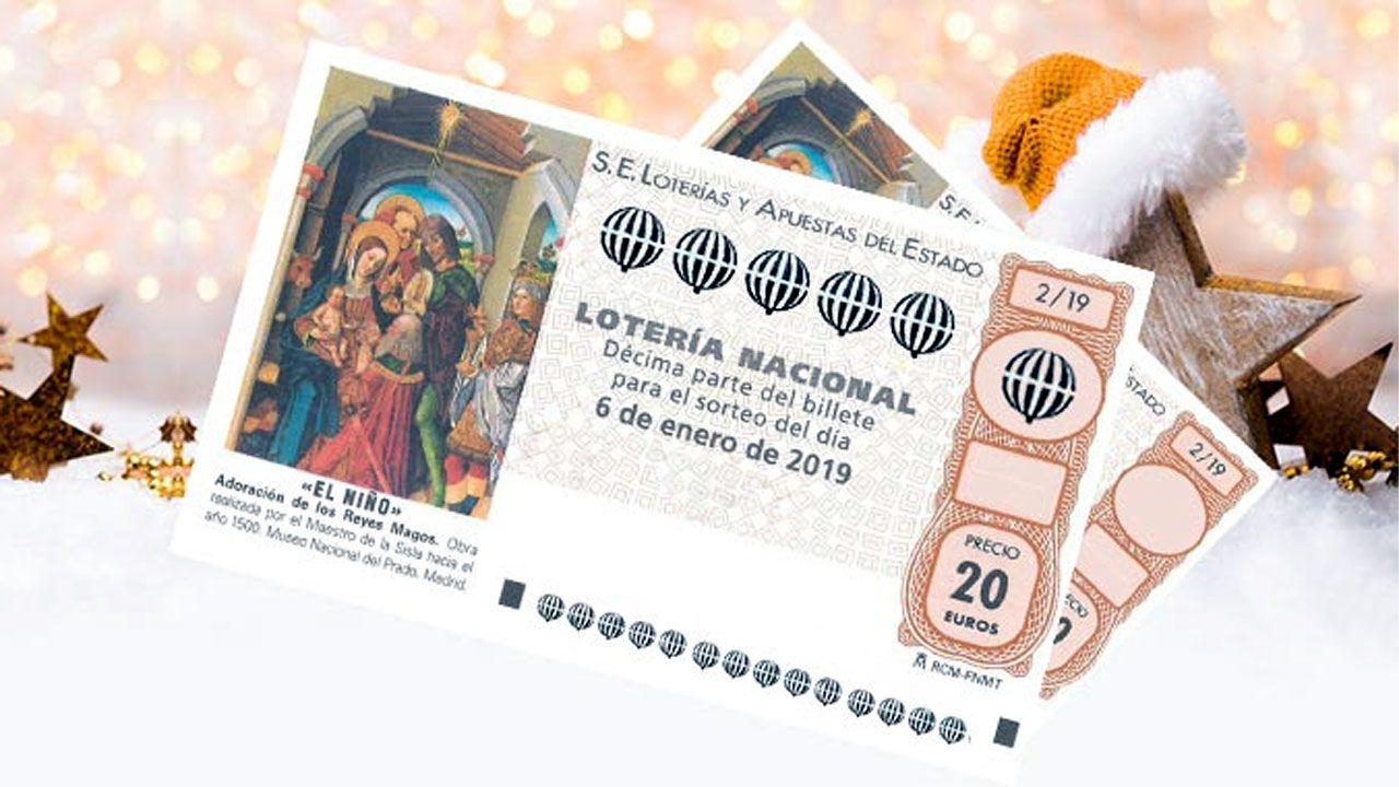 Videntes famosos protagonizan el nuevo anuncio de la Lotería de Navidad.Administración de Lotería en Gijón