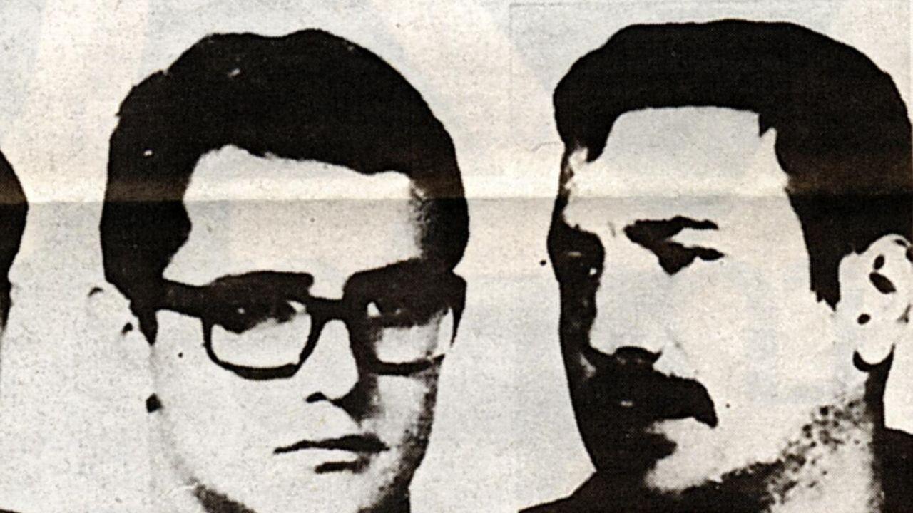 Imagen de archivo del 1973 de los etarras Ignacio Pérez Beotegui (Wilson) y Juan Bautista Eizaguirre Santiesteban (Zigor). Este último será ahora trasladado de la prisión de Teixeiro a una cárcel asturiana