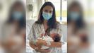 Noelia Dopazo dio a luz a Liam el jueves y este sábado hizo el examen de la OPE del Sergas desde su habitación en el hospital de Ourense