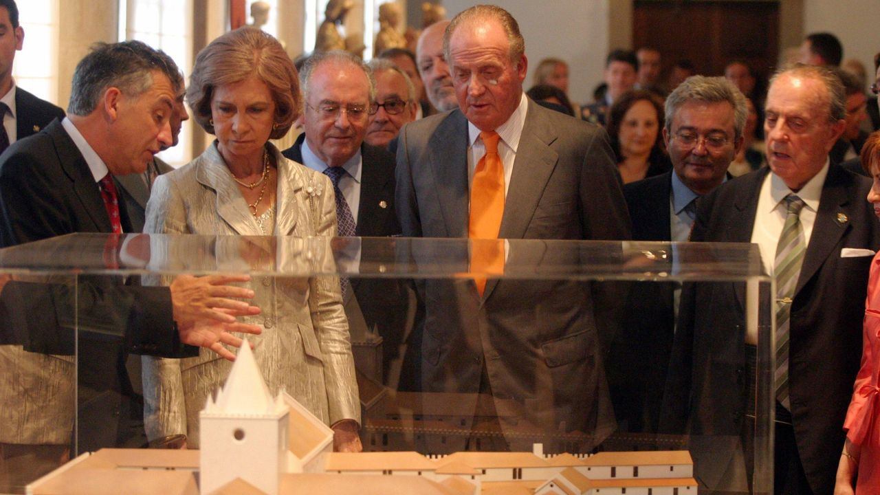 Visitando el Museo do Pobo Galego