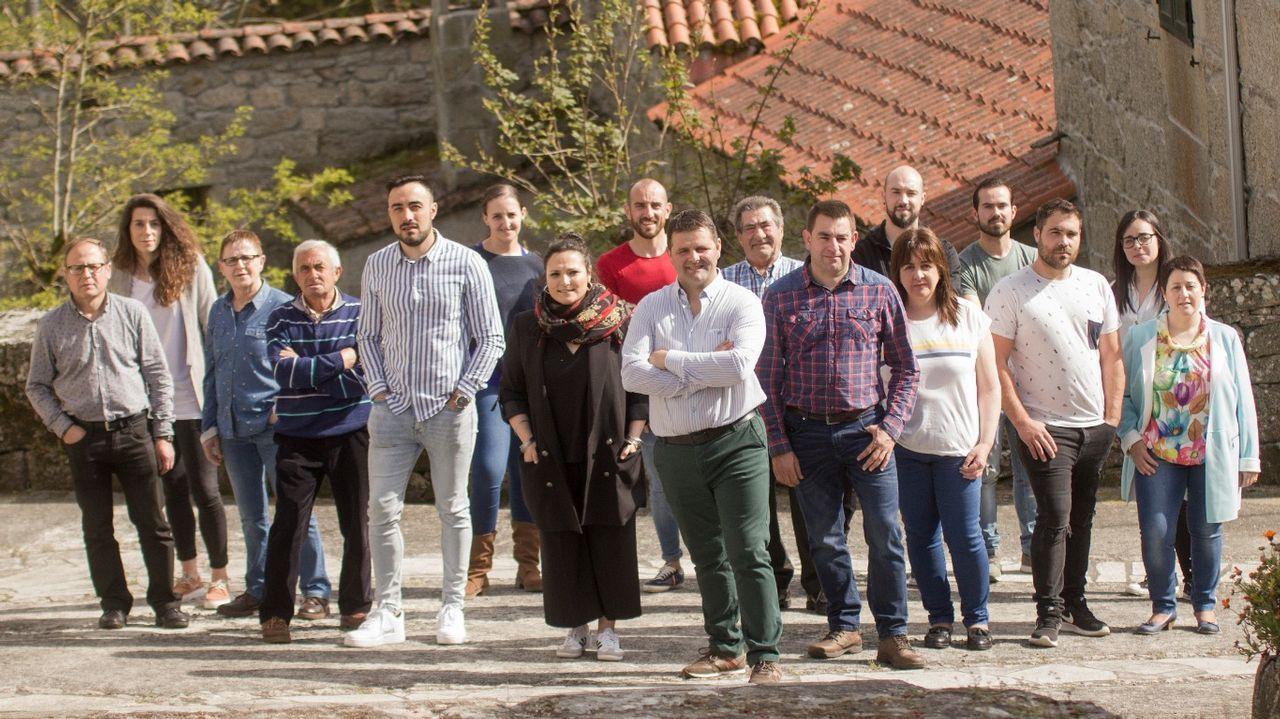 Imagen de la candidatura del PSOE en Monterroso