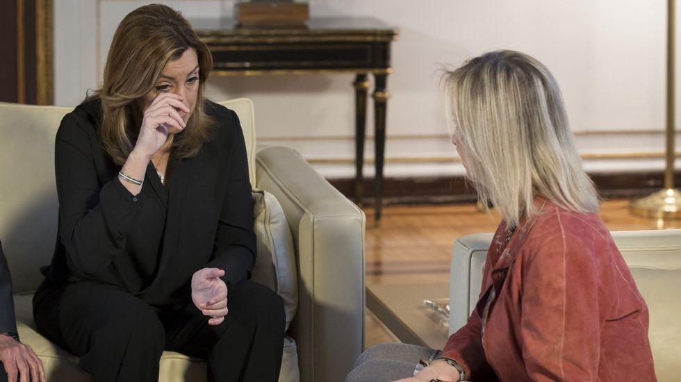 Susana Díaz destacó que «ha marcado una época para las mujeres en nuestra democracia con su fuerza».