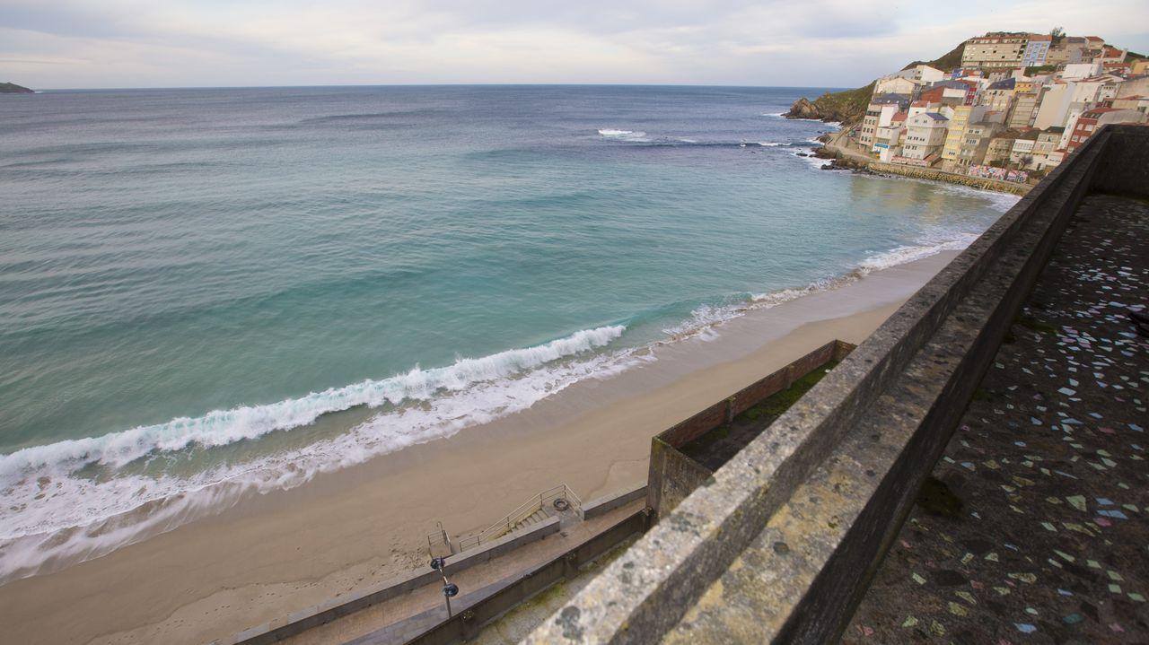 Vistas a la playa Area Maior y a Atalaia desde una de las plantas del edificio