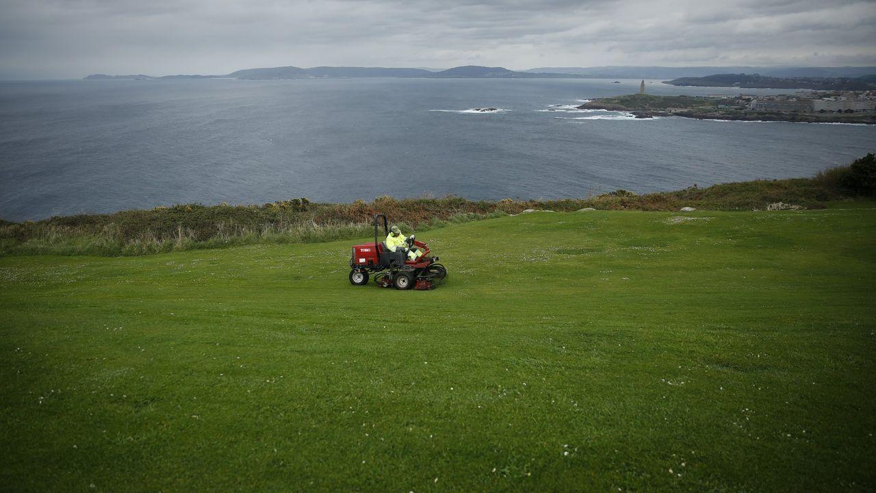 Vistas desde el monte de San Pedro, en A Coruña