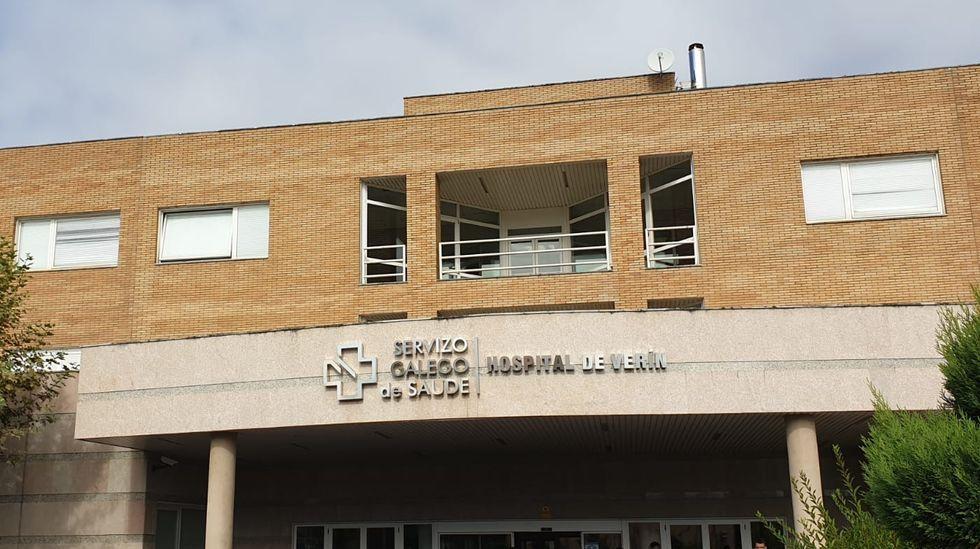 En el hospital de Verín hay 11 personas ingresadas con coronavirus