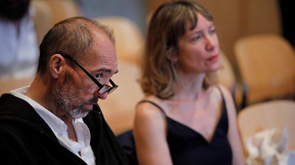 Natalio Grueso y Judit Pereiro