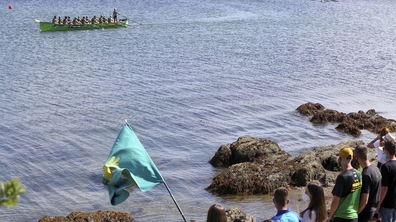 Arranca el Pantín Classic.Imagen de archivo del rally de Ferrol