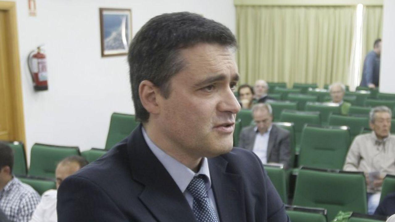 Vicente Prieto, director del Instituto Social de la Marina en la provincia de Lugo, en una foto de archivo
