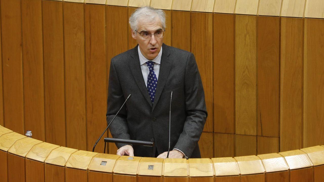 Francisco Conde, en una imagen de archivo durante una intervención en el Parlamento
