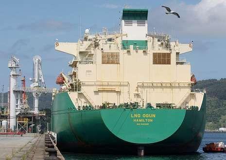 Durante el pasado año, las instalaciones de Reganosa recibieron 27 buques para descargar.