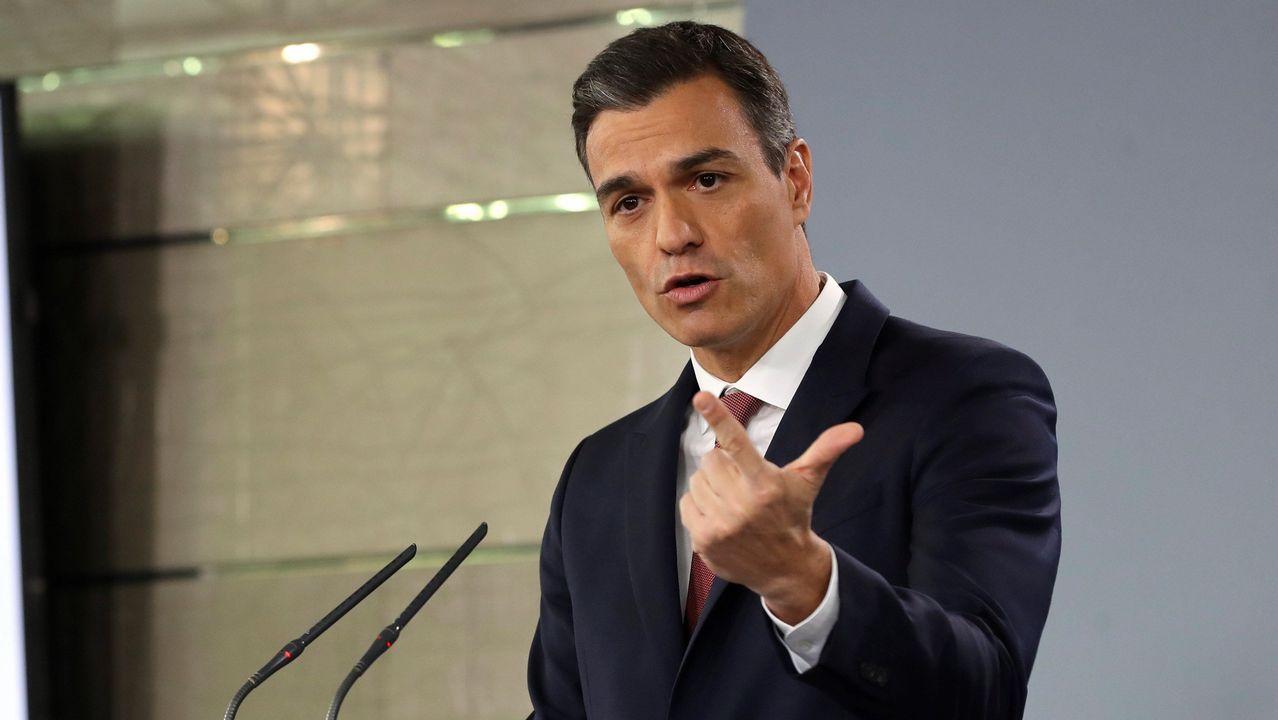 Sánchez comparece para anunciar medidas legales tras la sentencia de las hipotecas