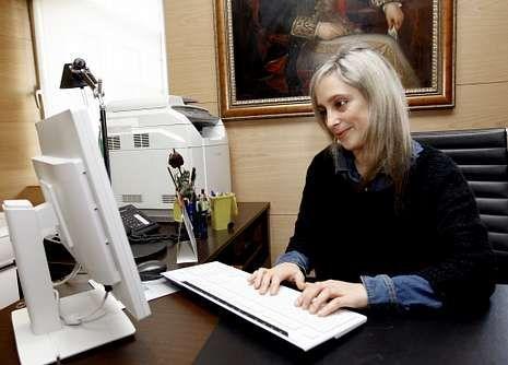 María Loureiro tomó posesión en diciembre.