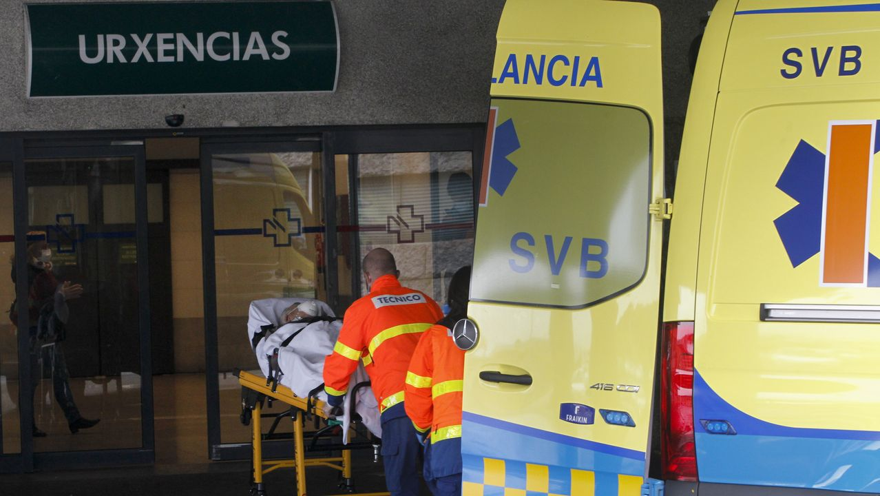 Urgencias del Chuac Pandemia del coronavirus