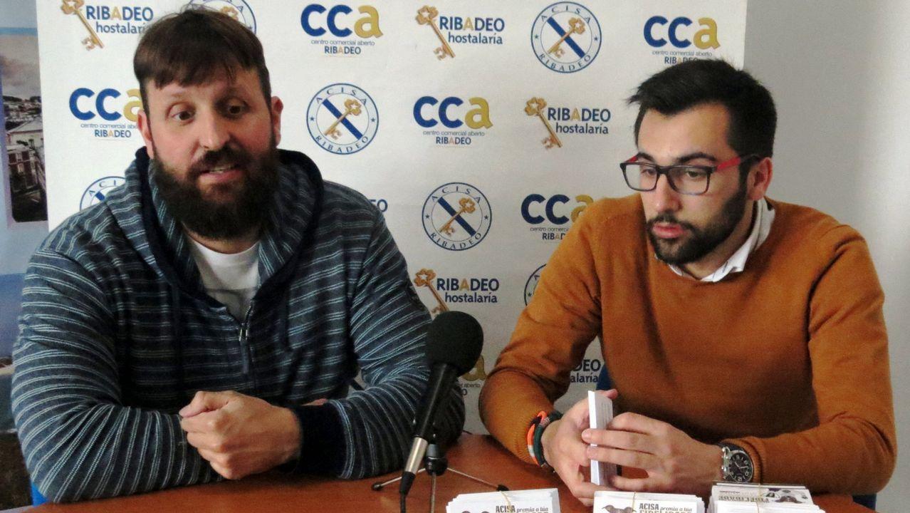 Mariñanos en Fitur.Protesta en Italia en contra del brazalete patentado por Amazon
