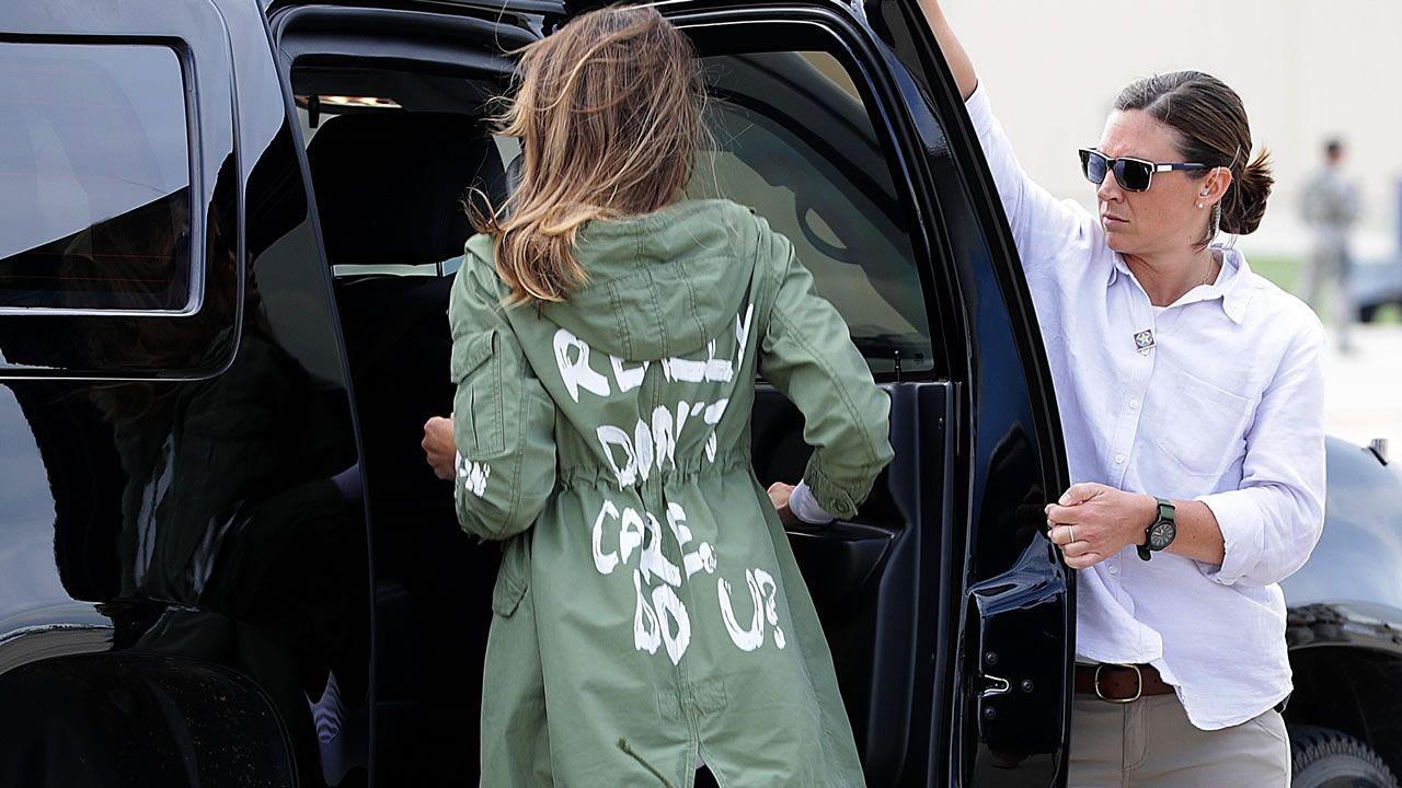 El polémico mensaje de Melania Trump