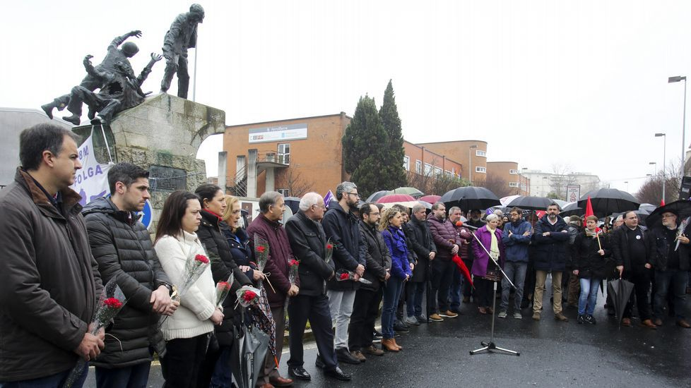 10 de Marzo reivindicativo bajo la lluvia de Ferrol