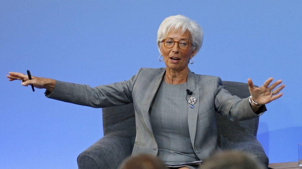 La directora del Fondo Monetario Internacional, Cristine Lagarde