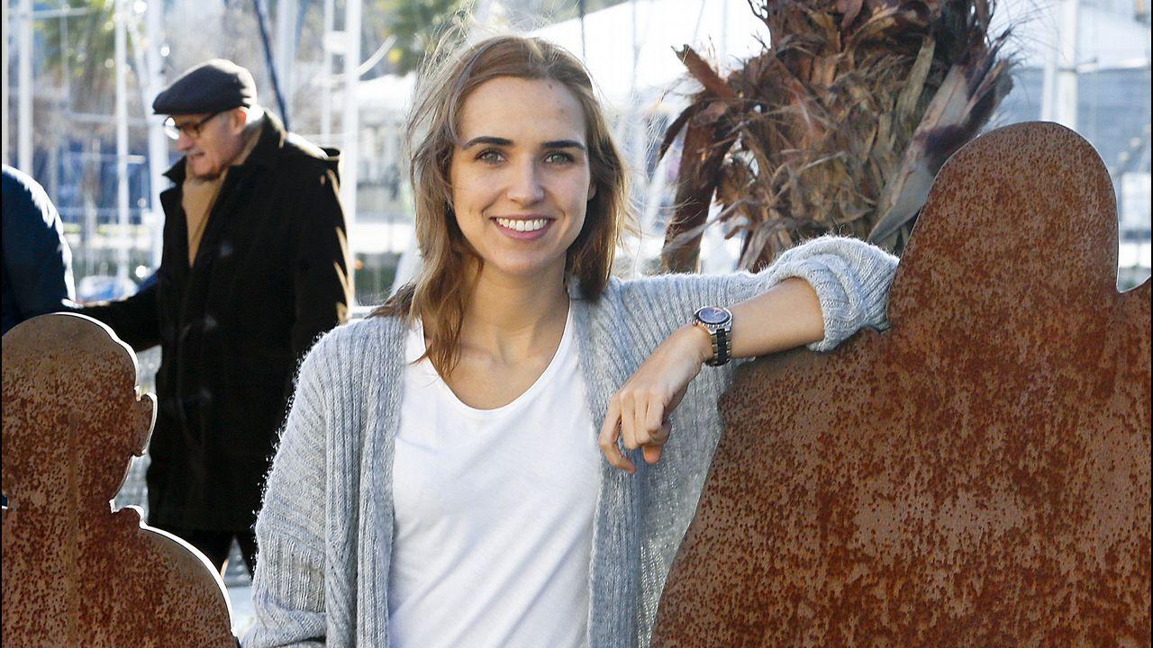 La profesora de Fisioterapia Raquel Leirós ha puesto en marcha un sistema para prevenir caídas