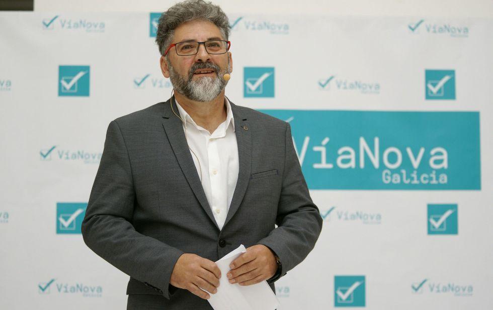 «É o momento máis crítico para o Partido Socialista».Fernández amosouse convencido de que a nova formación terá un percorrido centenario.