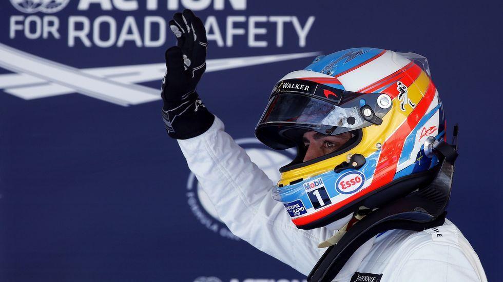 Mónaco vibra con la Fórmula 1.Fernando Alonso rueda en el circuito de Montecarlo