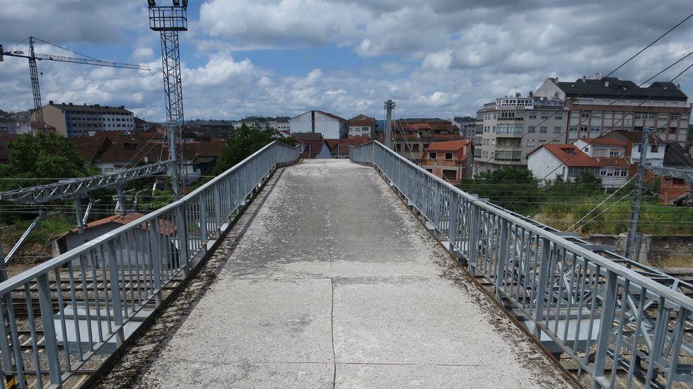 Ethel Vázquez: «A mí tampoco me gustan los peajes; a nadie le gustan los peajes».Vista del tren Alvia a su llegada a la estaciónn de Puente de los Fierros en las laderas del puerto de Pajares (Asturias)
