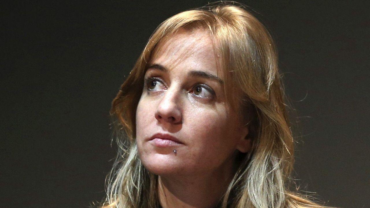 Tania Sánchez, purgada. Fue pareja sentimental de Iglesias pero tras la ruptura se pasó a las filas errejonistas, lo que la apartó de la dirección