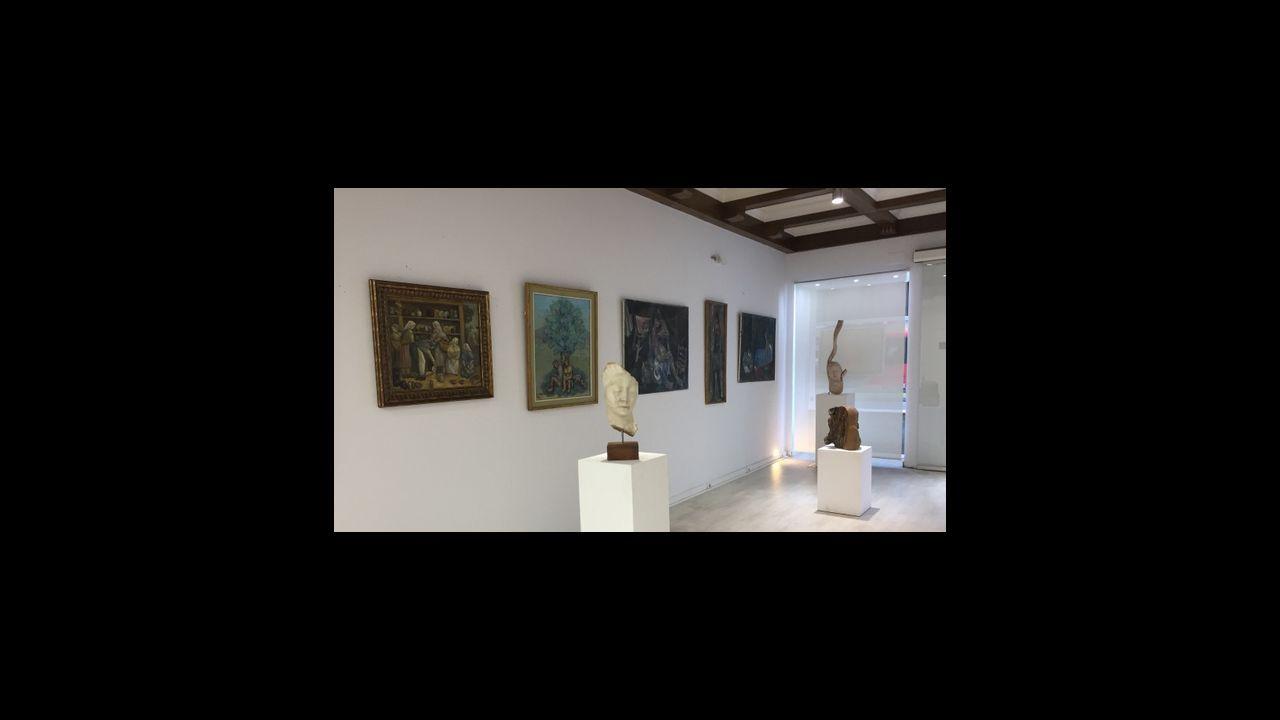 Exposición  Seoane y el movimiento renovador  en la galería La Marina