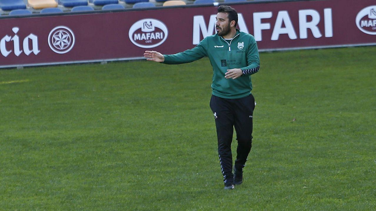 Jesús Ramos, entrenador del Pontevedra CF
