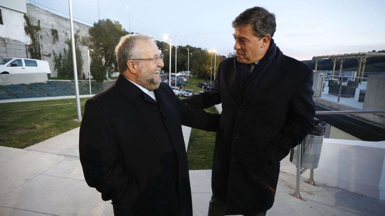 López Orozco y Gómez Besteiro, juntos en Lugo en el año 2017