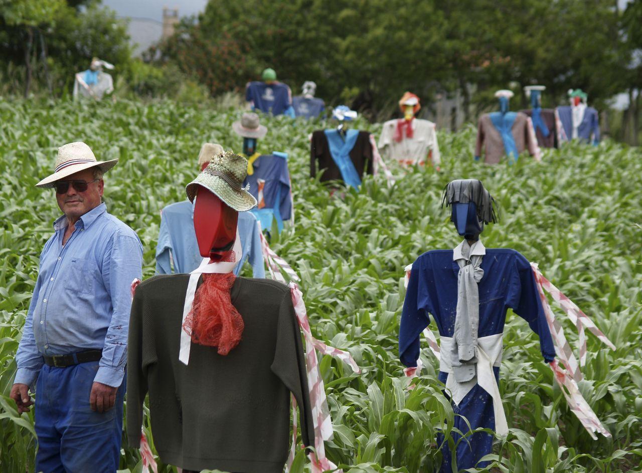 Ejército de Espantallos de Jesús Lamazares en Chantada