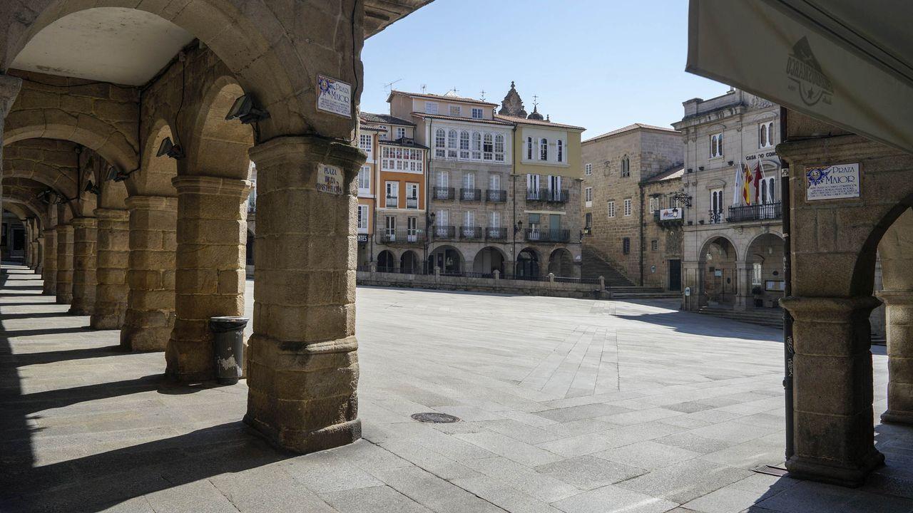 Praza Maior (Ourense).