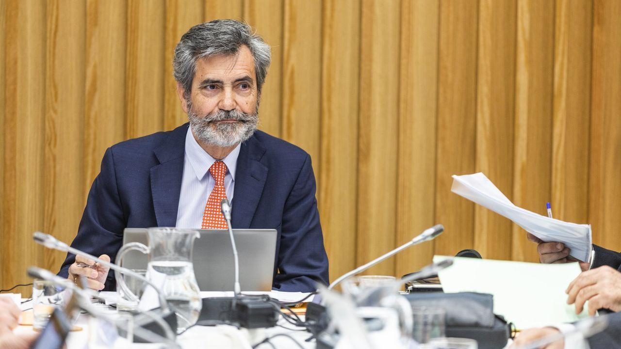 Carlos Lesmes, presidente del Consejo General del Poder Judicial y del Tribunal Supremo