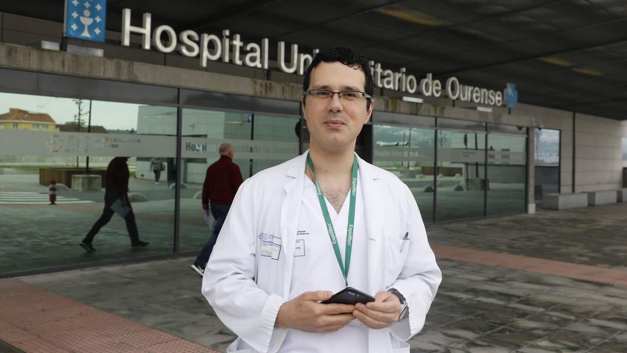 En la ciudad de Ourense hay actualmente 578 casos activos