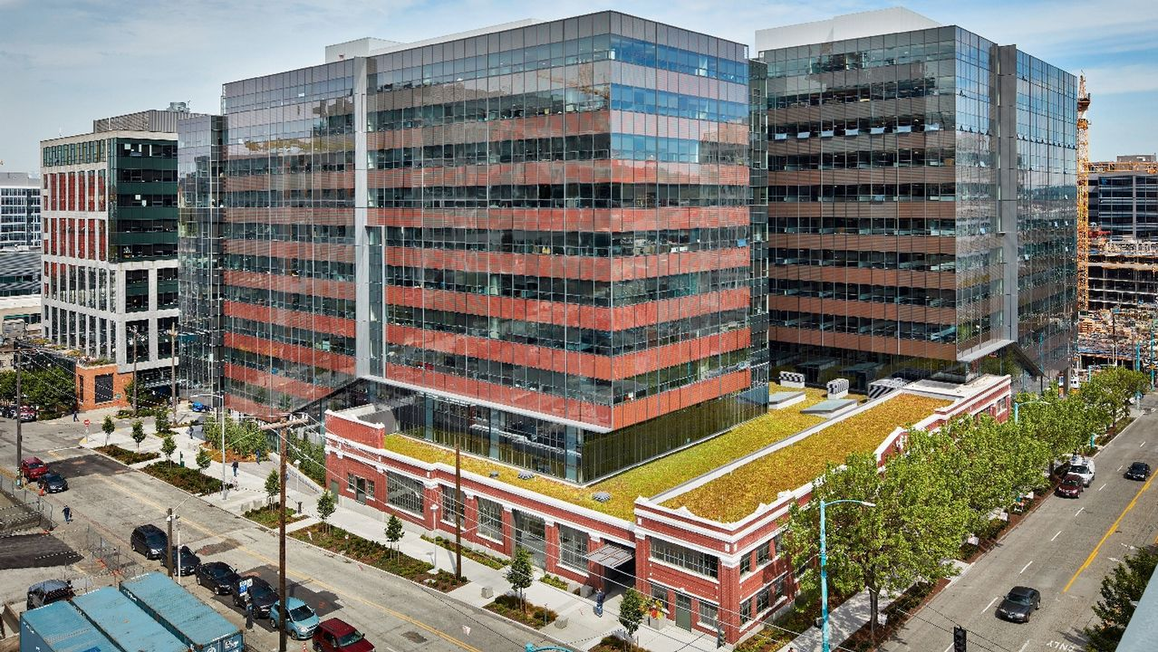 Troy Block, Seattle (Estados Unidos) 645 millones. Es parte del campus Amazon, sede central del grupo.