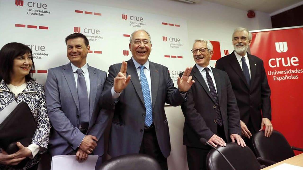 La CRUE denuncia el «inaceptable» comportamiento de algunos políticos que sembraron dudas sobre la URJC.Fotografía de archivo de Emilio Lledó